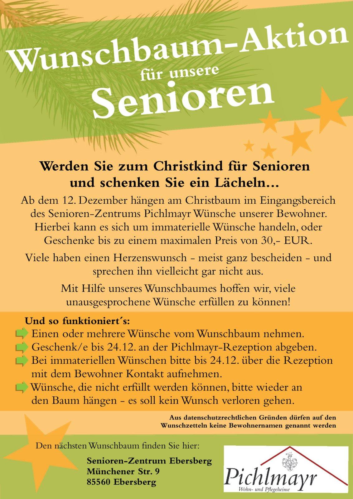 80 Aktion Wunschbaum Plakat Ebersberg