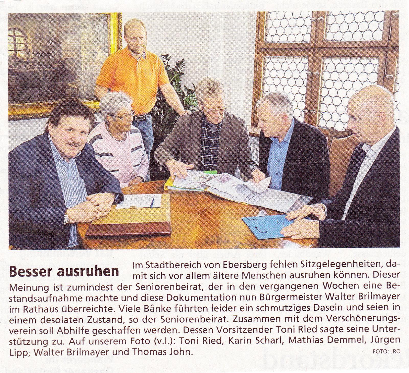 M- Merkur Ebersberg Bänke